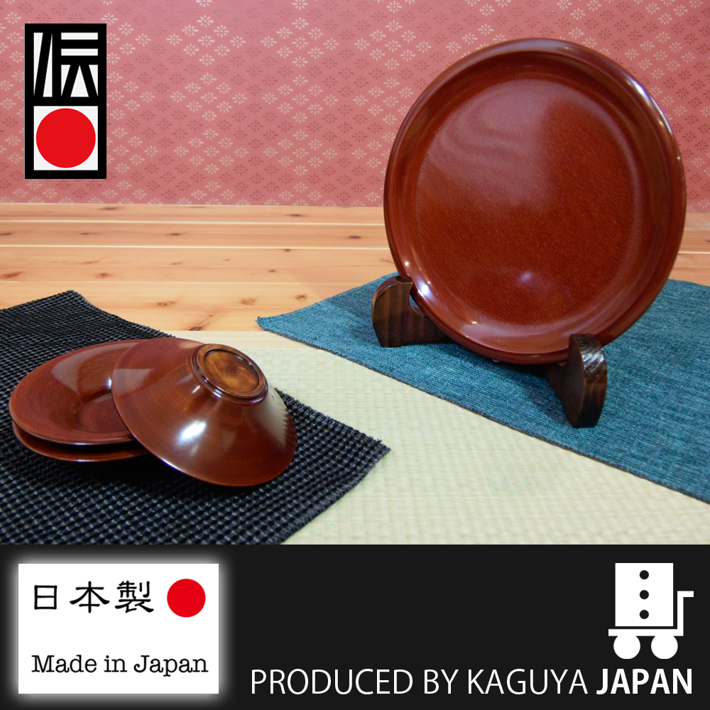 Modern and Reliable paper plate URUSHI Lacquer plate at reasonable prices , small lot order available