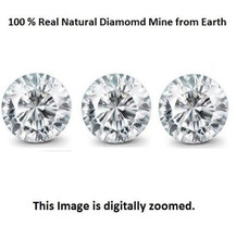 Natural 0.75TCW Earth Mined Round Cut White Loose Diamonds VVS-2/D-E Color at Best Price