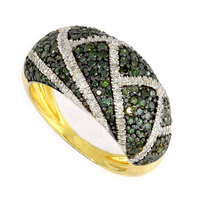 10 KT Gold Ring With Diamond