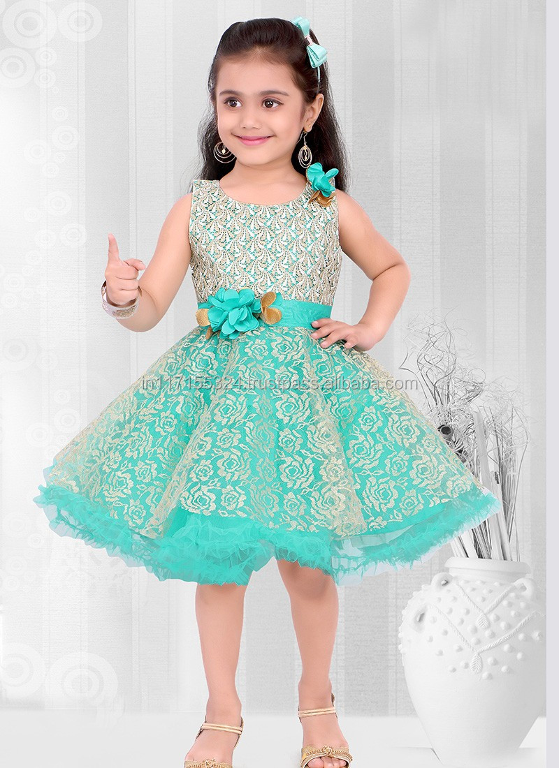 Indian Designer Party Wear Frocks Design -short Frock Dress - Baby ...