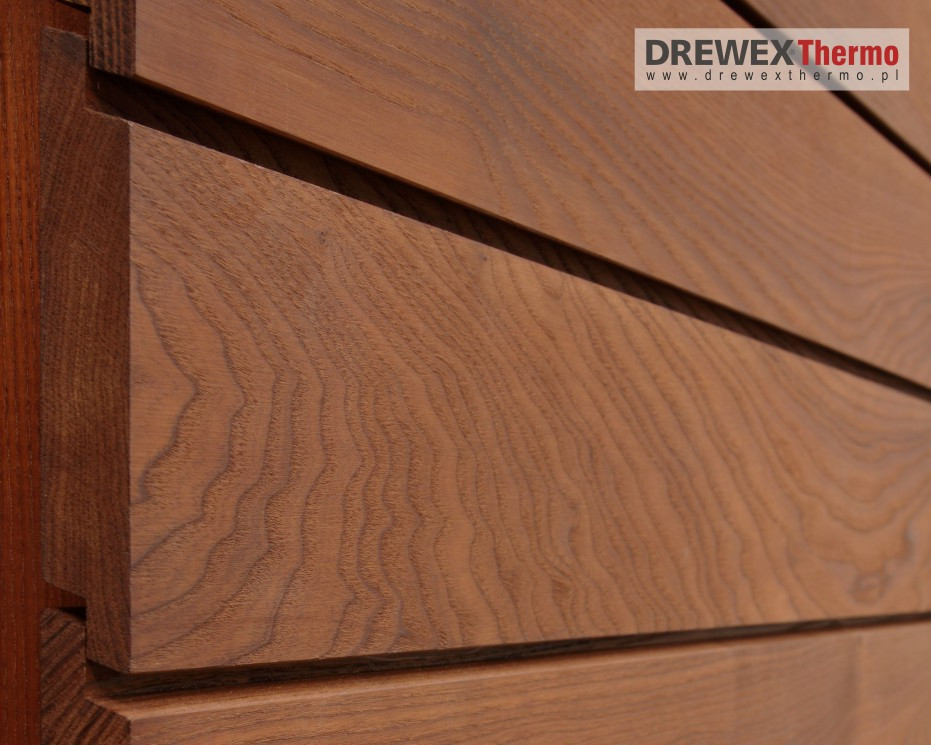 Wood Cladding Elevation : Wall cladding elevation boards thermoash thermally