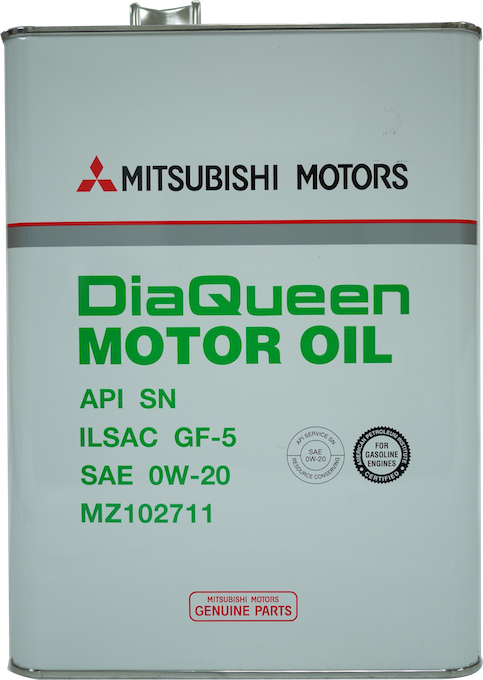 Mitsubishi motors diaqueen motor oil api sn gf 5 sae 0w 20 for Does motor oil expire