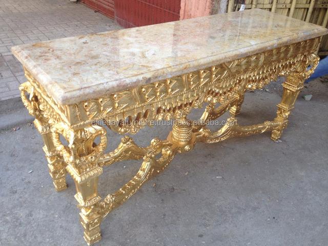 Rokoko Stil Geschnitzte Konsole Tisch Buy Rokoko Stil Geschnitzte Konsole Tisch,Französisch Stil Konsole Tisch,Holz Geschnitzt Konsole Tisch Product