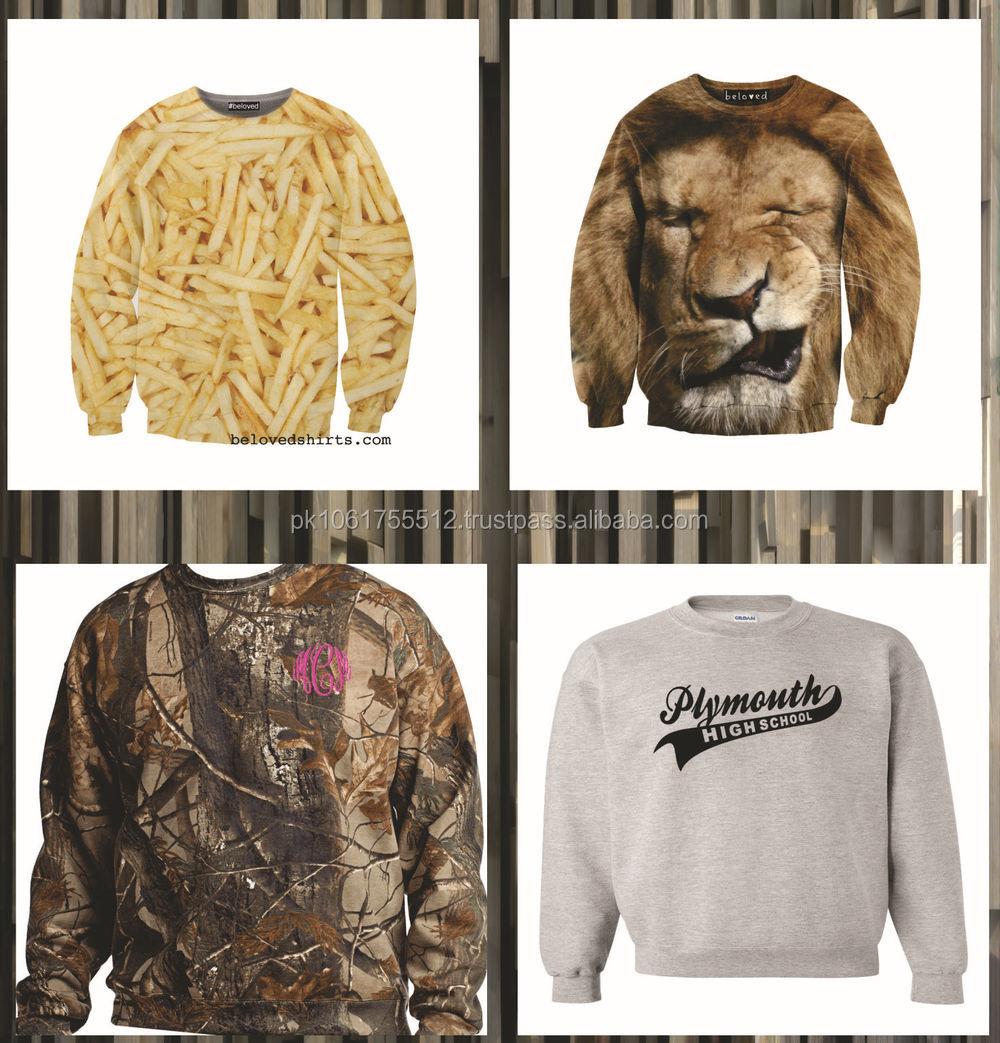 Fast Delivery Custom Mens Sublimation Sweatshirt,Wholesale ...