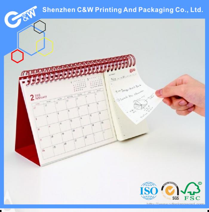 Handmade Calendar Design : Printing custom desk calendar designs buy