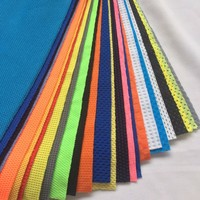 Knitted _Solid_Mesh Sports fabric