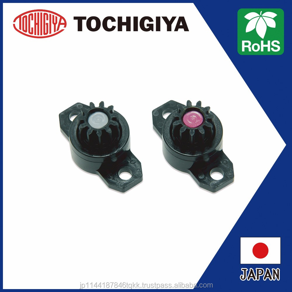 TM-318-1 Rotary Damper round gear rack toilet seat hinge RoHS compliant High Quality Japan soft down gear rack
