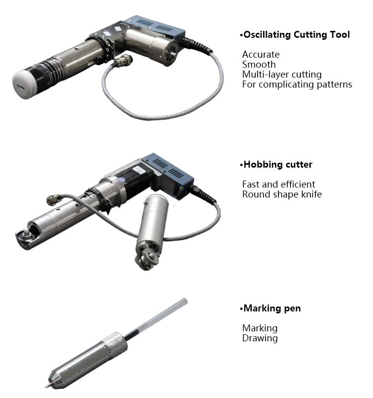 Cnc Oscillating Knife Fabric Cutting Machine Buy Fabric