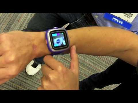 VTech Kidizoom Smart Watch. First Look At Interactive Smart Watch For Kids