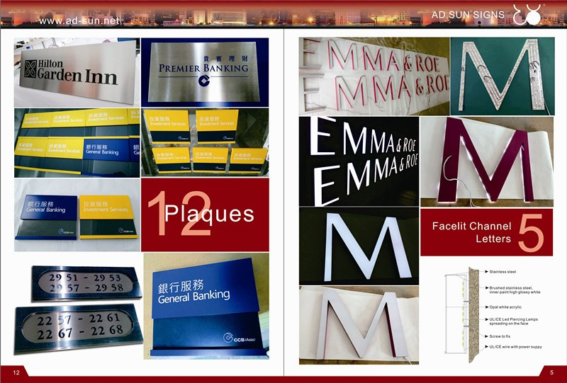 new style acrylic channel letters used outdoor lighted signs used outdoor box signs indoor changeable letter