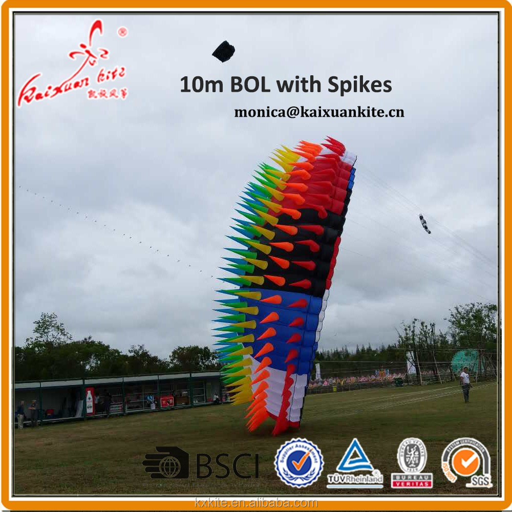 10m BOL with Spikes from Kaixuan kite factory