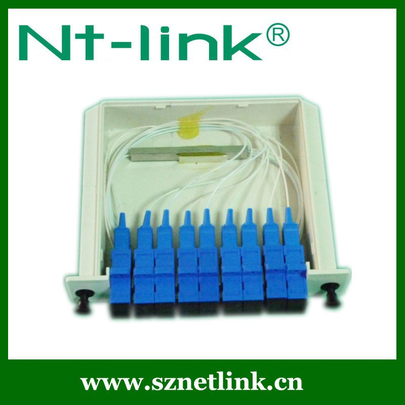 Best selling certified 1*16 PLC Splitter LGX Box with high quality