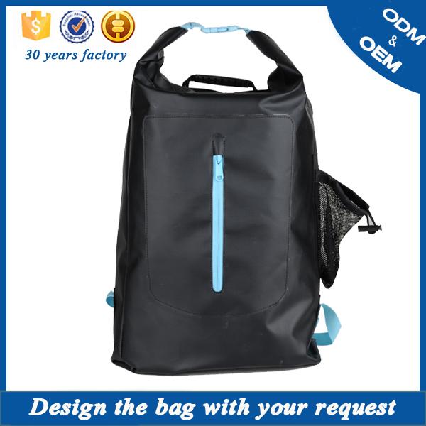 19108ef578d6 PVC tarpaulin swimming Waterproof Backpack Dry Bag Day Pack or PVC custom  logo waterproof duffle ocean