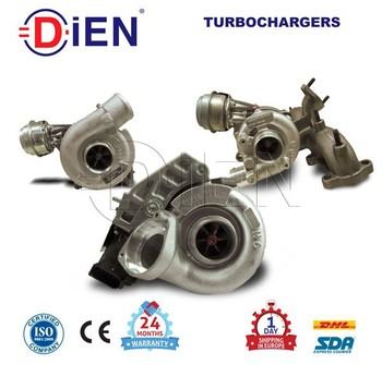 778088-5001s Turbocharger For Peugeot 407 / 607 Dual Stage 125kw ...