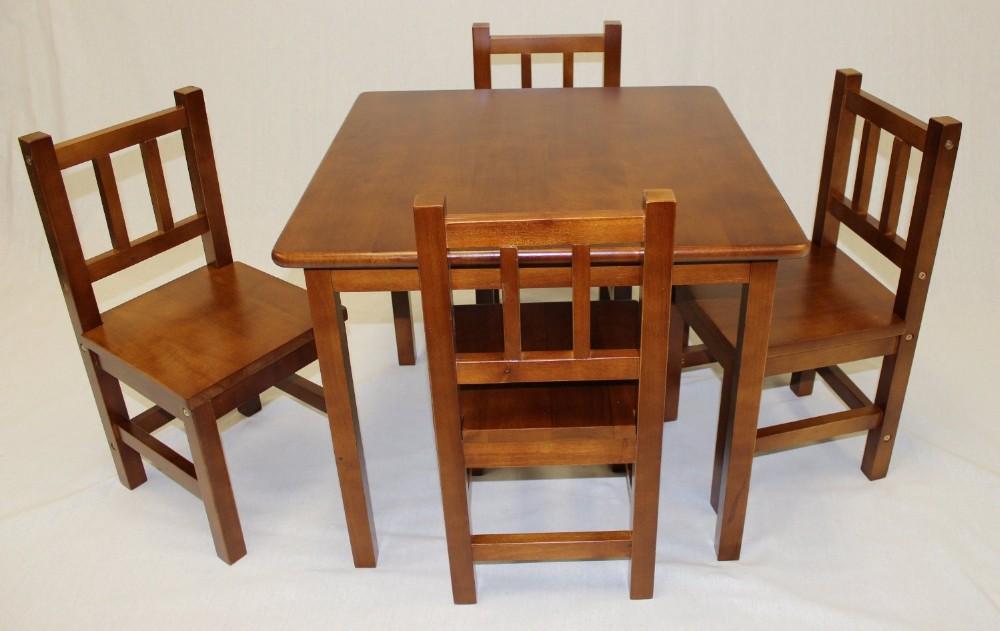 Kindergarten Massivholz Kinder Study Spielen Tisch Stuhl Kinder Holz