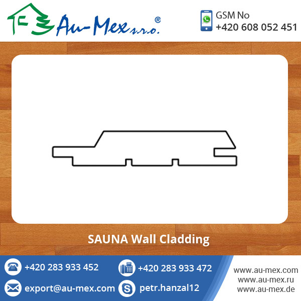 Export Quality Genuine SAUNA Wall Profile Timber Wood Cladding