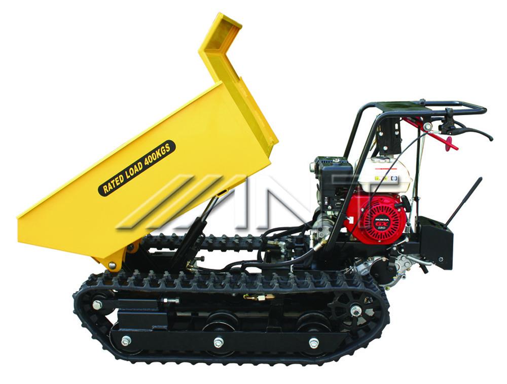 By400 400kg mini dumpers tracked dumper buy mini dumpers for Motorized wheelbarrows for sale