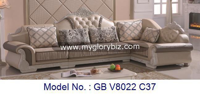 Modern Stylish Corner Sofa Set In L
