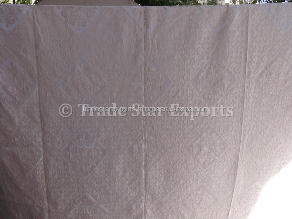 Buy online applique cotton dupatta