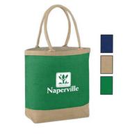 Laminated Jute Shopping Promotional bag