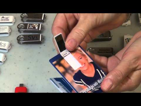 Credit Card - Business Card Seflie USB Flash Drives