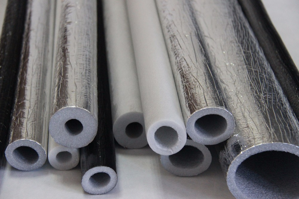 Polyethylene Insulation Pipes Laminated With Aluminum Foil
