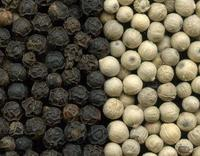 All kind of spices: Black/ White Pepper