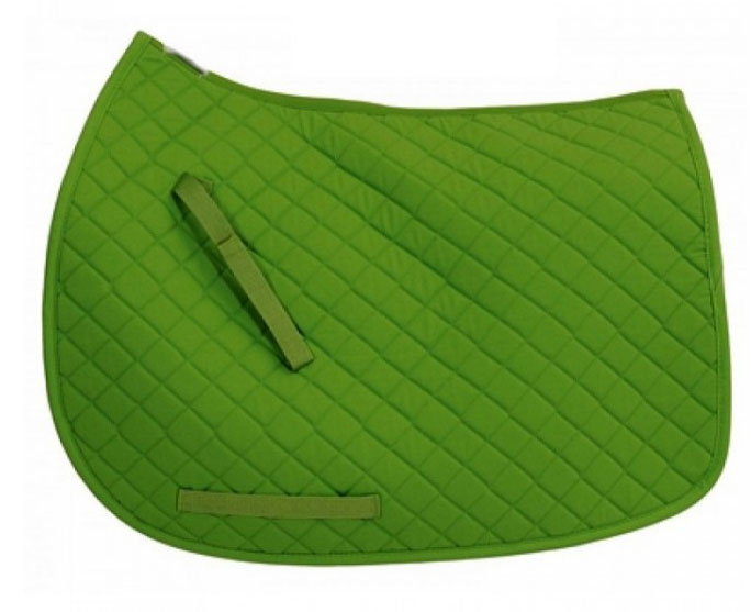 Horse ridding saddle pads Polycotton square quilted Saddle Pad Equestrian Equipment Saddle pad