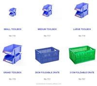 High Quality - Small Tools Storage Boxes /Plastic Bins/Stackable Shelf Bins - DUY TAN PLASTICS VIET NAM