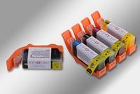 Edible Ink Cartridges, Set of 5 PGI525 CLI526