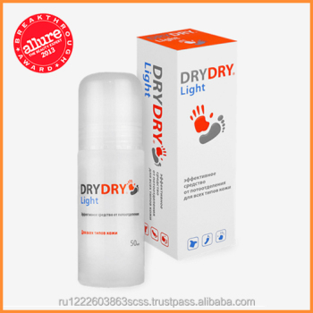 Dry Dry Light - Effective Roll-on antiperspirant product.