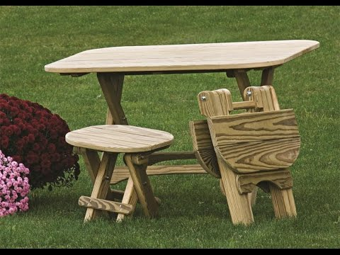 Get Quotations · Folding Table | Folding Table And Bench Set