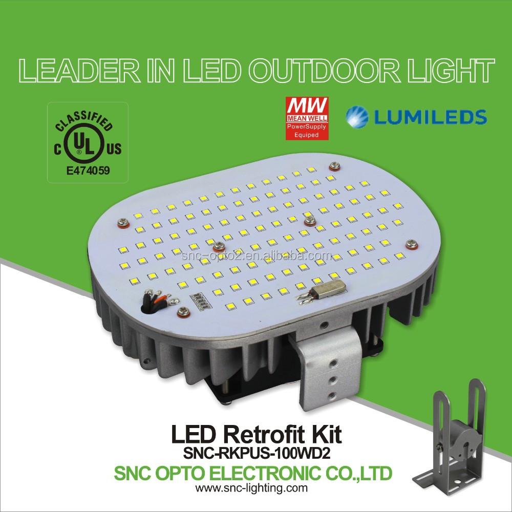 Snc 100 Watt 135lm/w Led Street Light Retrofit Kit Replace 250w ...