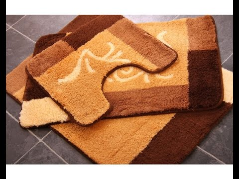 Get Quotations · Bathroom Rug Sets | Bathroom Rug Sets With Elongated Lid Cover - Cheap Cotton Bathroom Rug Sets, Find Cotton Bathroom Rug Sets