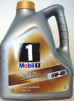engine oil fully synthetic mobil 1 new life 0w40 4 liter. Black Bedroom Furniture Sets. Home Design Ideas