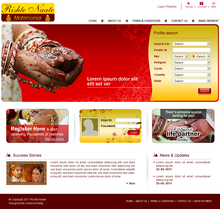 Ideal Matrimonial Websites with Source code for online service