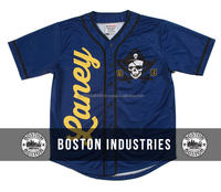 LANEY Throwback Baseball Jersey Sublimated Cheap Baseball Jersey