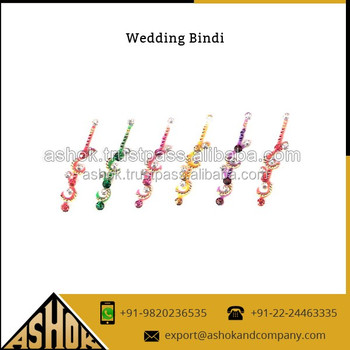 Special Gift Packing Indian Wedding Bindi Sticker Traditional