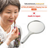 Unbreakable nursing home cosmetic mirror with available in various sizes made in Japan