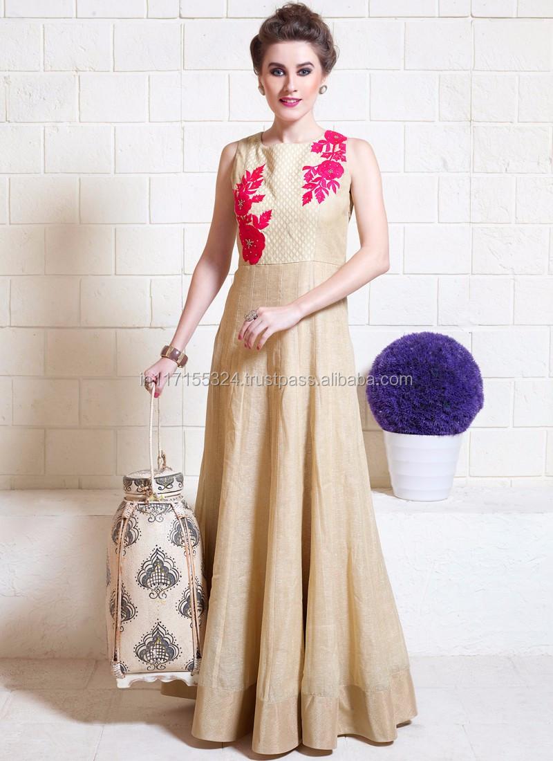 43b369a0a1 Salwar kameez sleeves design - Embroidery jute silk ladies suits - Neck  designs salwar kameez -