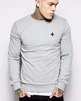 New Men Warm Blue Hoodie Hooded Long Sleeve Sweatshirt Tops Jacket Coat Outwear Sweater