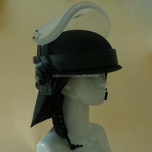 BPH-VN3A Military PASGT Ballistic Helmet,Bulletproof Helmet with Visor and Neck Protector NIJ IIIA
