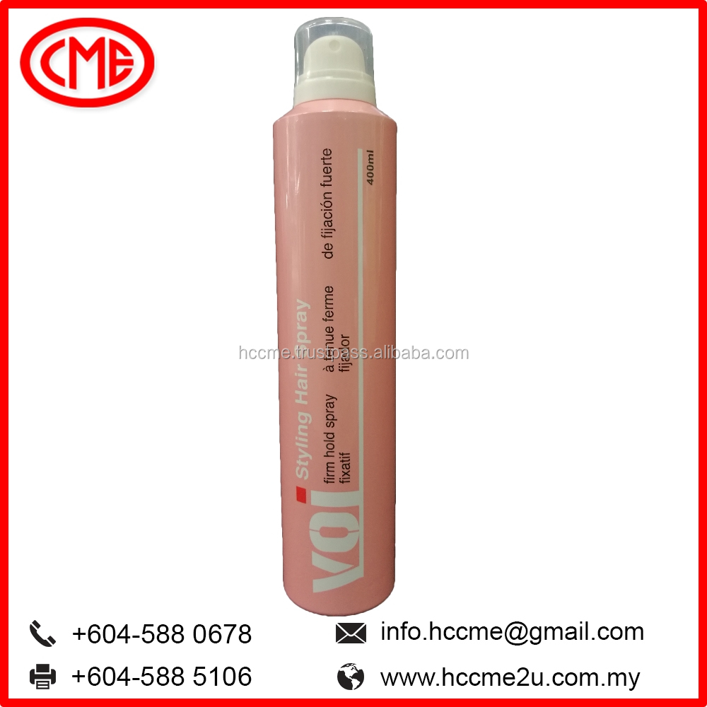 Voi Ultra Strong Hold Hair Spray hair care products from Malaysia