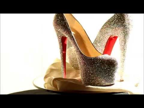 Christian Louboutin Strass,Wedding Shoes, Crystal Wedding Shoes, Bling Shoes