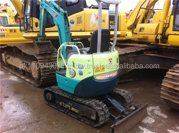used yanmar mini excavator, japan used yanmar vio15 mini excavator 1 ton /1.5 ton