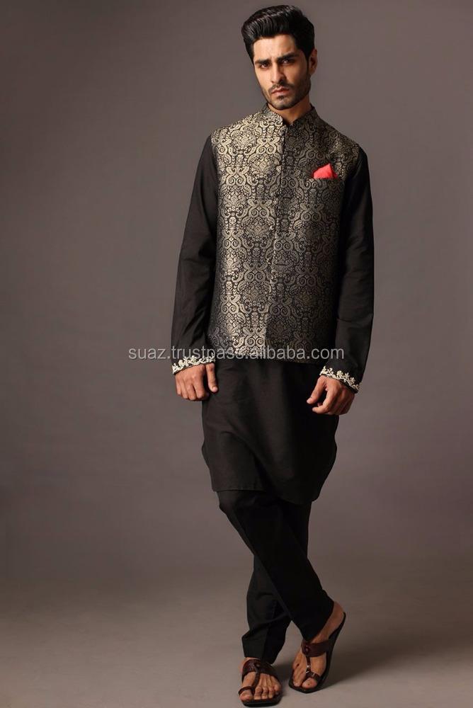 pakistani short waist coat