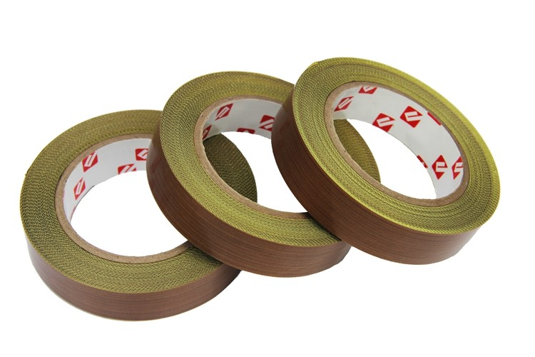 Heat Press Machine Accessories PTFE coated Adhesive Tape PTFE Glassfiber Tape
