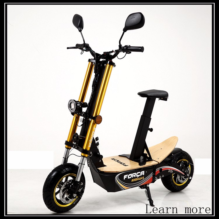 Folding Gas Scooter With 71cc 2 Stroke Engine Gasoline