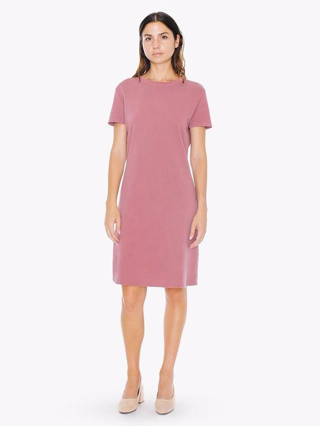 Plain Solid Color Woman Dress Fashion Custom Blank T-shirt ...