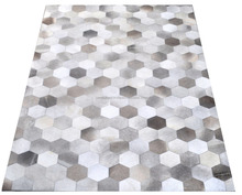 Hair On Cowhide Leather Carpet M108
